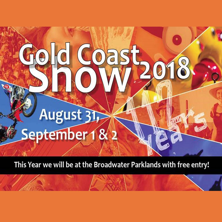 2018 Gold Coast Show –  FREE at the Broadwater Parklands