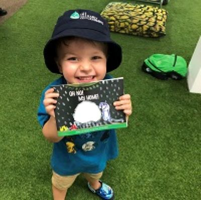 EDGE EARLY LEARNING MILTON CREATES CHILDREN'S STORYBOOK
