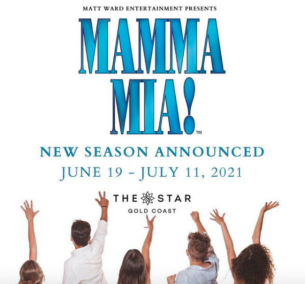 DRUM ROLL PLEASE…NEW DATES ANNOUNCED FOR MAMMA MIA!